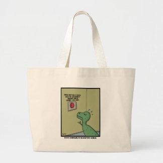 Desenhador de desenhos animados que fazem o bolsas de lona