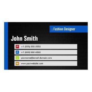 Desenhador de moda - código à moda do tema QR Cartão De Visita