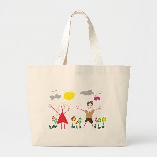 Desenhar da criança bolsa