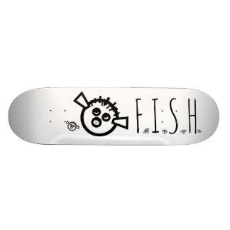 Desenhista da plataforma do skate de F.I.S.H