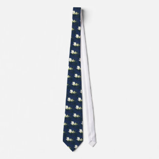 Desenhista floral branco azul da flor gravata