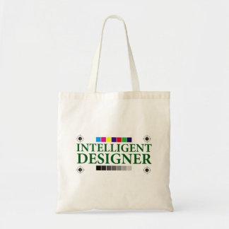 Desenhista inteligente sacola tote budget