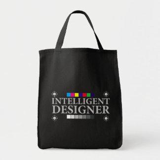 Desenhista inteligente sacola tote de mercado