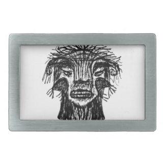 Desenho da cabeça do monstro da fantasia
