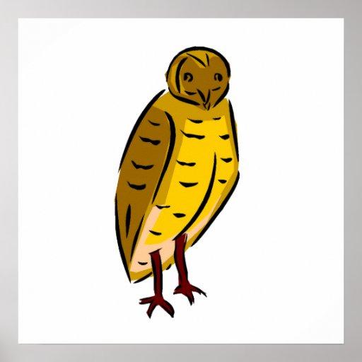 Desenho da coruja posters