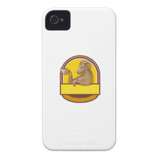 Desenho da crista do café do bebendo da cabra da capinhas iPhone 4