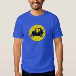 Desenho da tinta do carro vintage tshirt