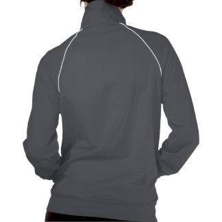 Desenho de Pitbull vibrante na jaqueta da trilha Jaqueta Com Estampa