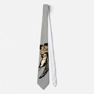 desenho do casal do laço gravata