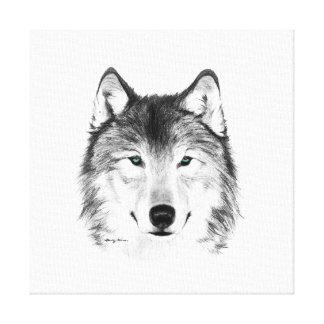 Desenho do lobo, grafite