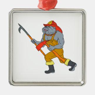 Desenho do machado do fogo de Pike Pólo do Ornamento De Metal