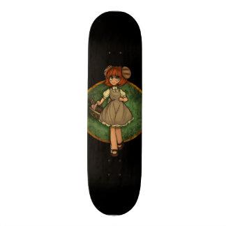Desenho feito sob encomenda da menina do Anime Shape De Skate 18,1cm