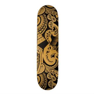 desenho original do tatuagem no estilo de madeira shape de skate 18,7cm