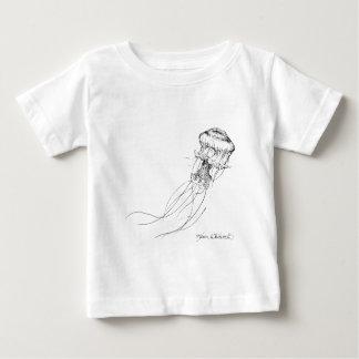 Desenho preto & branco das medusa camisetas