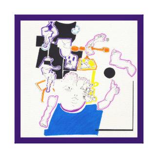Desenhos 14 canvas da boneca da noite & da sesta e
