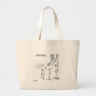 Desenhos animados 1036 do centauro bolsa tote grande
