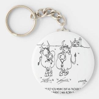 Desenhos animados 3348 da vaca chaveiro