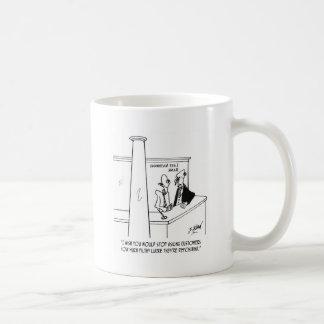 Desenhos animados 3635 do banco caneca de café