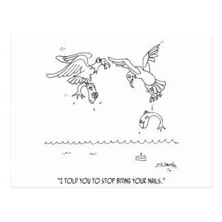 Desenhos animados 4179 do Manicure Cartão Postal