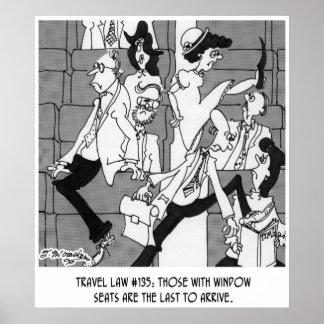 Desenhos animados 5224 do passageiro pôster