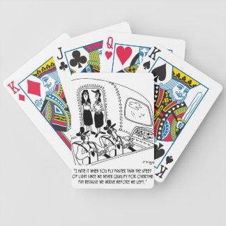 Desenhos animados 7547 do vôo baralho para poker