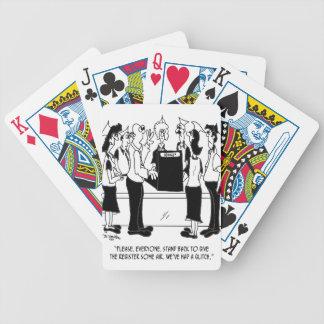 Desenhos animados 8453 do negócio cartas de baralhos