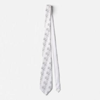 Desenhos animados 9340 da carne gravata