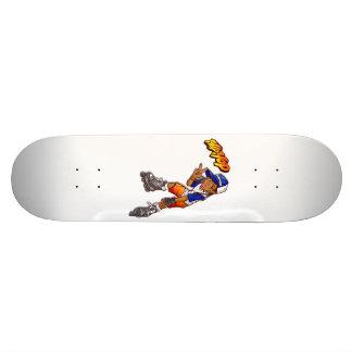 Desenhos animados adolescentes do patinador de Hip Shape De Skate 18,1cm
