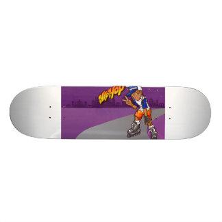 Desenhos animados adolescentes do patinador de Hip Shape De Skate 21,6cm