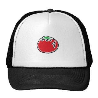 Desenhos animados animadores do tomate de cereja bonés