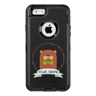 Desenhos animados bonitos da lontra personalizados