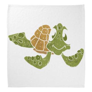 Desenhos animados bonitos da tartaruga faixa de cabeça
