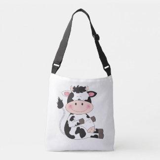 Desenhos animados bonitos da vaca bolsa ajustável
