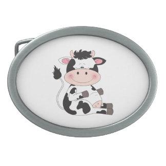Desenhos animados bonitos da vaca do bebê