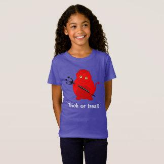 Desenhos animados bonitos do divertimento de um camiseta