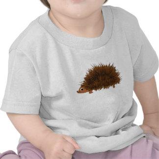 Desenhos animados bonitos do ouriço t-shirt