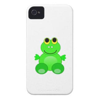 Desenhos animados bonitos do sapo iPhone 4 capa