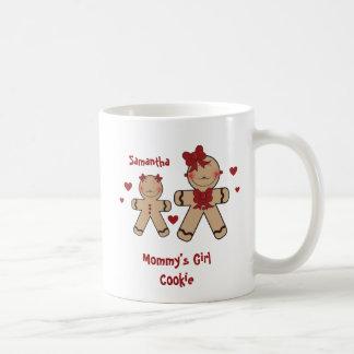 Desenhos animados bonitos dos biscoitos do caneca de café
