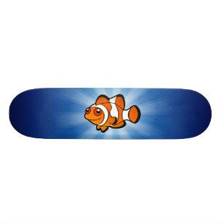 Desenhos animados Clownfish Shape De Skate 20,6cm