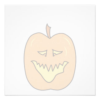 Desenhos animados da abóbora do Dia das Bruxas Co Convites Personalizado