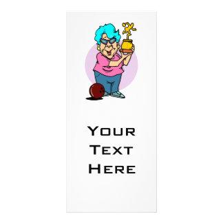 desenhos animados da avó do campeão da boliche planfetos informativos coloridos