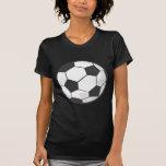 Desenhos animados da bola de futebol camiseta