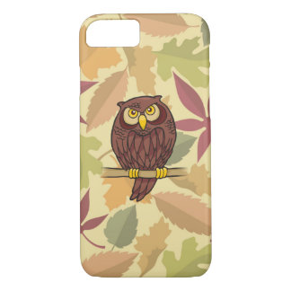Desenhos animados da coruja capa iPhone 7