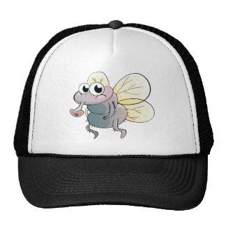 Desenhos animados da mosca boné