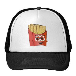 Desenhos animados das batatas fritas bonés