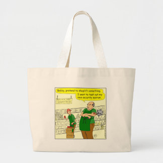 desenhos animados de roubo em lojas do mace 371 sacola tote jumbo