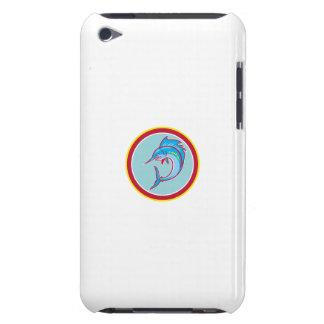 Desenhos animados de salto do círculo dos peixes capas iPod Case-Mate