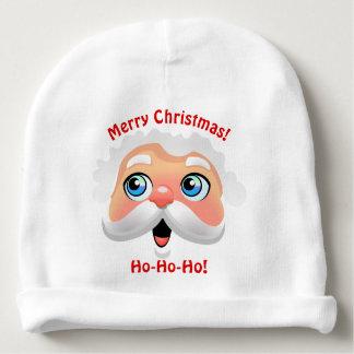 Desenhos animados de sorriso bonitos de Papai Noel Gorro Para Bebê