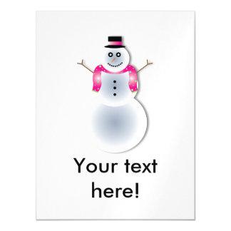 Desenhos animados do boneco de neve