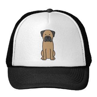 Desenhos animados do cão de Bullmastiff Boné